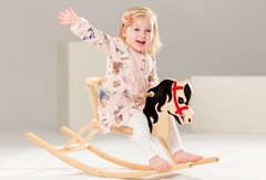 Rocking horse inspires to dream