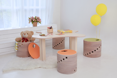 Kids furniture made of birch plywood