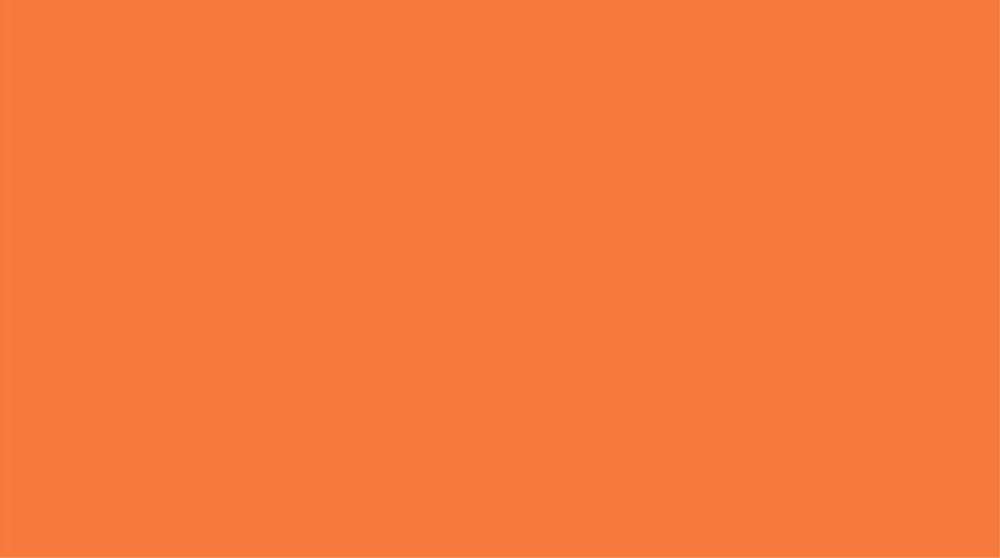 Orange color. No. S 0570 - Y50R. Becker color catalogue, NCS scale.