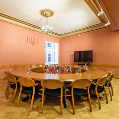 Meeting table by individual project, chairs UK