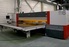 Schelling FLH cutting machine.