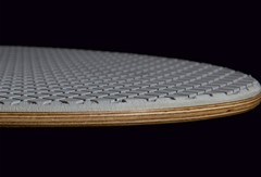 Skimboards are made of high quality birch plywood